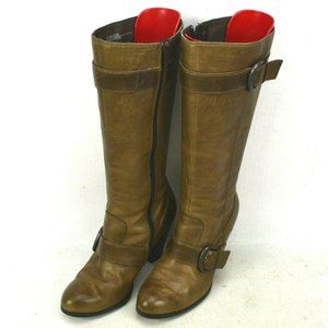 Born Marlow Leather Knee High Boots Womens Size 6
